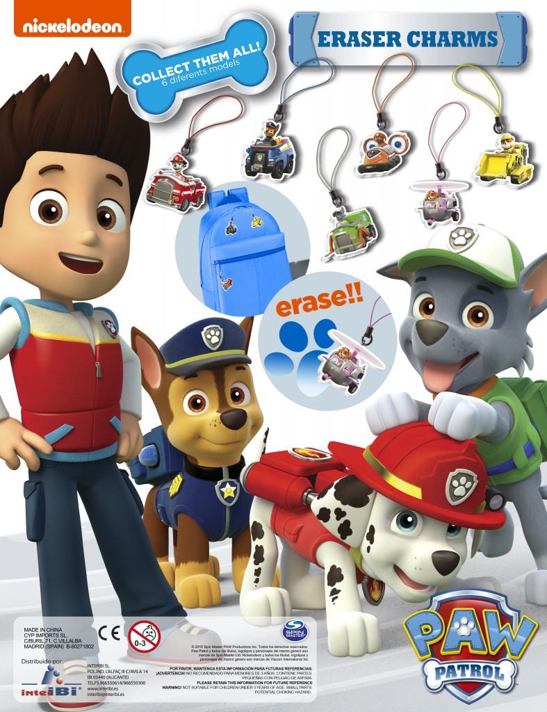 Colgantes coleccionables Patrulla Canina - Happy Boys