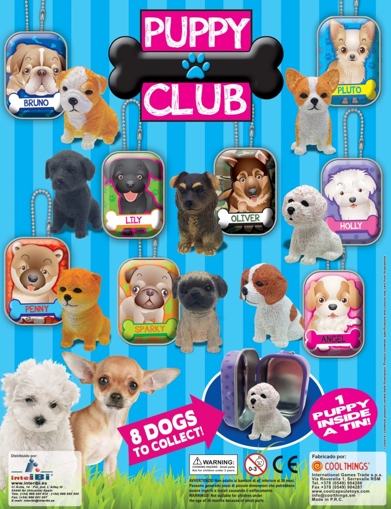 Colección Puppy Club - Happy Boys
