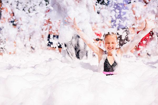 Fiesta de la espuma - HappyBoys