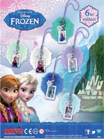 Colgantes coleccionables Frozen - Happy Boys